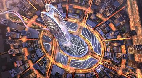 Burj Jumeirah is the latest landmark skyscraper planned for Dubai