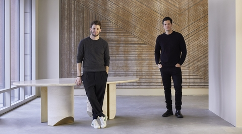 Lebanese duo david/nicolas present first solo show at Carpenters Workshop Gallery in New York