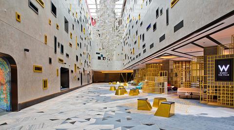 dwp discusses the interior design behind W Dubai's public spaces