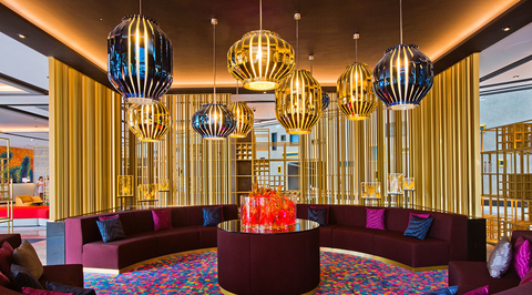 Take a video tour of W Dubai's interiors with dwp