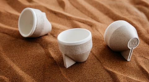 Dubai-based Tinkah creates new material using desert sand