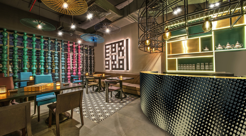 Brand Creative designs second Nar concept in Dubai referencing traditional forms
