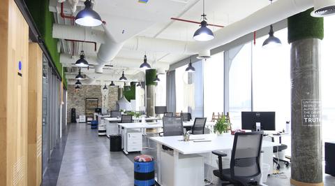 Verve reveals design inspiration behind 'industrial' Dubai blockchain office