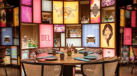 LW Design creates eclectic interiors for new Indian street food restaurant in Dubai