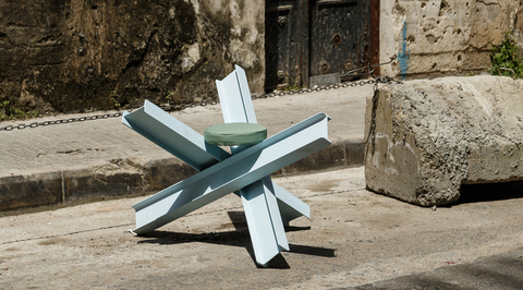 T Sakhi transforms Beirut defence equipment into urban spaces