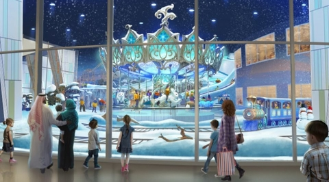 Abu Dhabi plans to open the world's largest snow park in 2020