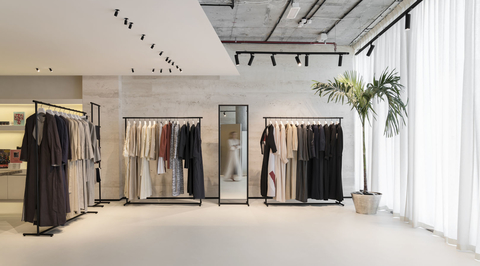 SuperFutureDesign* designs minimalist showroom for abaya brand in d3