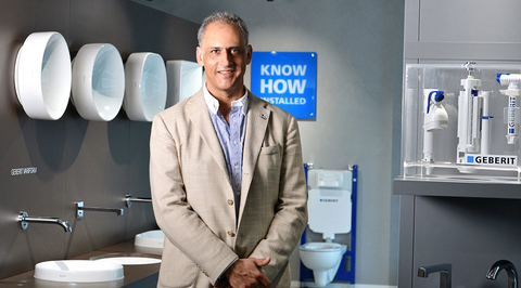 Innovation is crucial for bathroom design, Geberit says