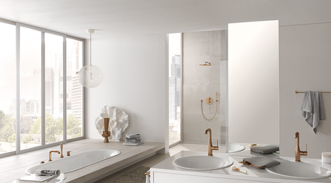 Grohe is transforming bathrooms into the home's most refined space