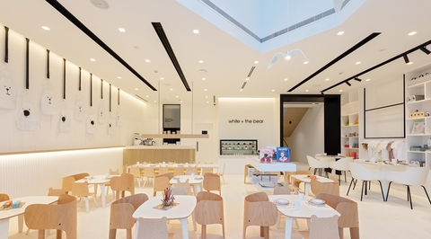 Sneha Divias designs world's first children's restaurant, White & the Bear