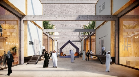 Plan to turn Riyadh's derelict buildings into co-working spaces unveiled