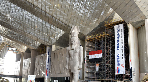 Design of largest archeological museum in Egypt to be conceptually connected to the pyramids