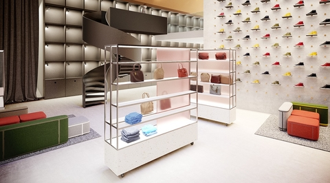 SuperFutureDesign* proposes pop-up store for disruptive brands