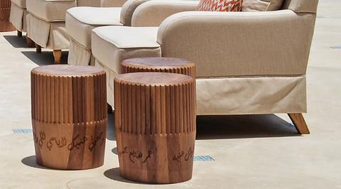 Kart Group unveils designer table inspired by singer Umm Kulthum