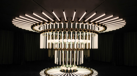 London Design Festival 2019: Lee Broom's lighting installation uses lights and mirrors to create optical illusion