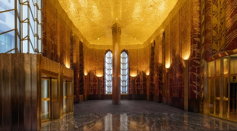 New York's Art Deco Red Room to open after $1m restoration