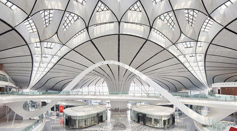 Video: Take a tour of Zaha Hadid Architects' newly opened Beijing Airport
