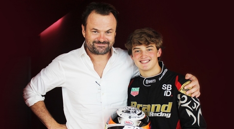 Swiss Bureau sponsors UAE racer Constantin Reisch