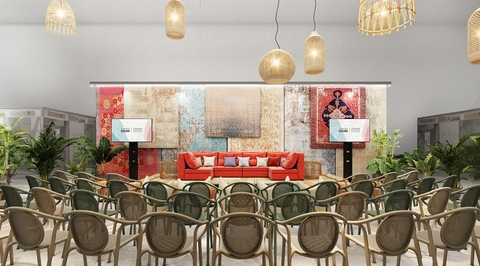 Swiss Bureau unveils bohemian stage for Downtown Design