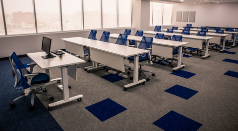 Shaw carpets selected for Muscat Insurance Company office