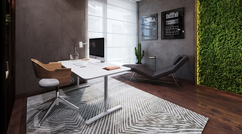 Muse imports Norwegian moss for luxury Bluewaters apartment