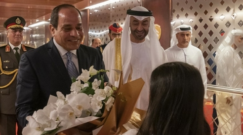 Egyptian President El Sisi visits UAE as designers push into Africa