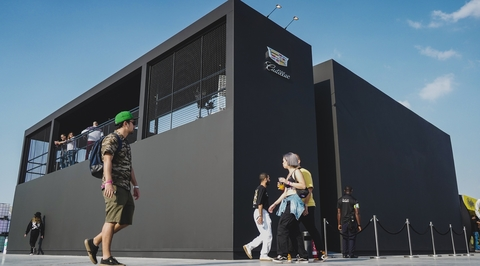 Cadillac's Sole DXB pop-up takes cues from street art