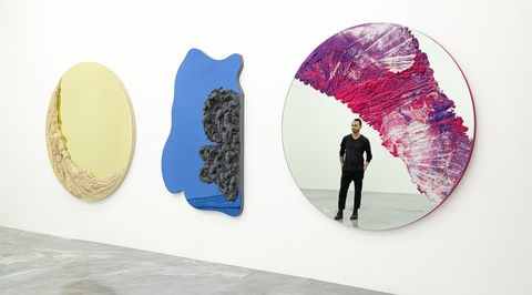 Dubai is the inspiration for New York-based artist's sculptural mirrors