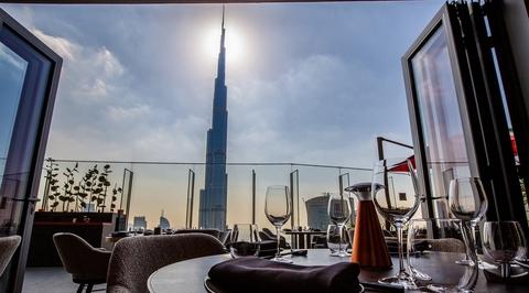 IN PICTURES: Cé La Vi Dubai by Prospect Design International