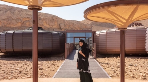 Hopkins Architects' new Sharjah park celebrates region's geology