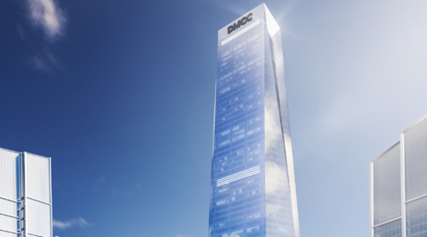 Adrian Smith + Gordon Gill Architecture's supertall Uptown Tower reaches 20 per cent completion