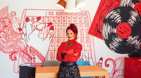 Meet Sam Kaufman Saliba, one of the artists behind Dubai's first Radisson Red Hotel