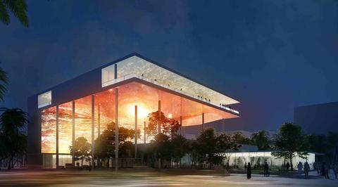 French Expo Pavilion set for September finish