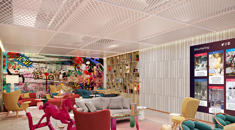 In Pictures: Bishop Design creates concept hotel in China for the millennial market