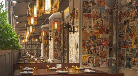 See the funky interiors of Mango Tree Thai Bistro when it re-opens in May