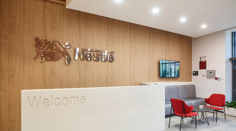 In Pictures: Swiss Bureau Interior Design & Build created this office space for Nestlé