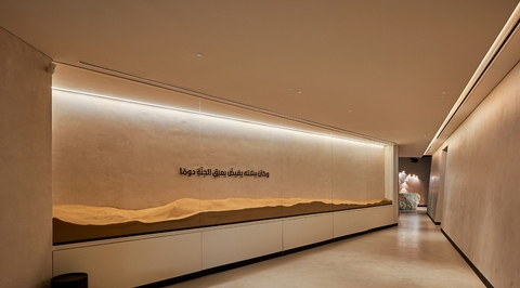 Inside The Founder's Legacy Office in Abu Dhabi