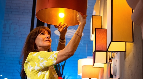 In the studio: Lisa Sicre of Lampshades Dubai