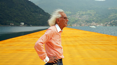 Christo, the artist who dreamed of building the world's largest sculpture in the UAE, dies aged 84