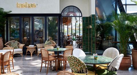 Le Jardin Secret in Marrakech inspires interiors at new Tashas restaurant in Al Barsha