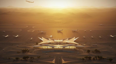 Saudi's luxury AMAALA resort will have an airport that looks like a private members' club