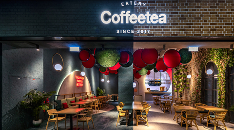 In Pictures: 4SPACE designs new branch of Coffeetea at Dubai International Financial Centre