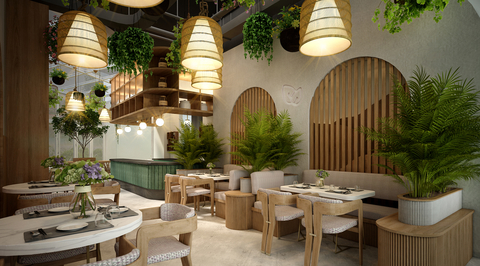 Designsmith creates interiors for Emirati F&B concept Nourish's second launch