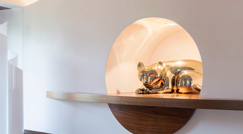 These exquisite design objects have real animal instinct