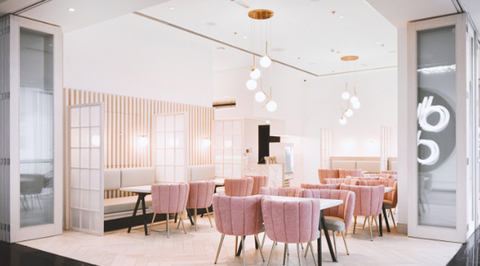SOSA puts the focus on food for the interior of Fen Cafe and Restaurant in Sharjah