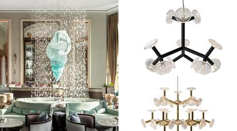 Preciosa brings customised lighting solutions to these exciting new hotel properties
