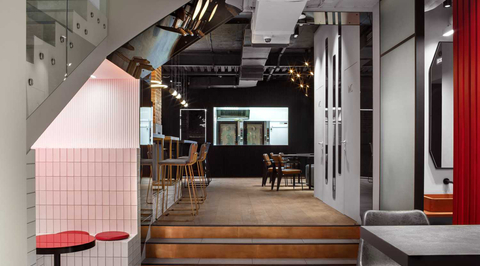 How Miyao Design Studio uses contrast to perk up Coffee Machine Bakery in Vladivostok, Russia