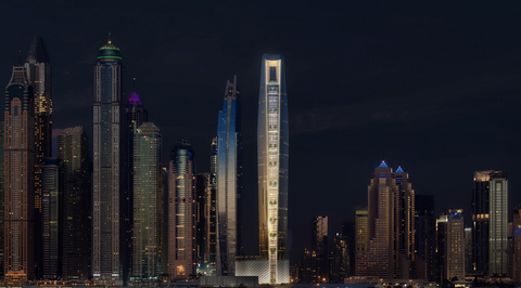 The next 'world's tallest hotel' to open in Dubai by 2023