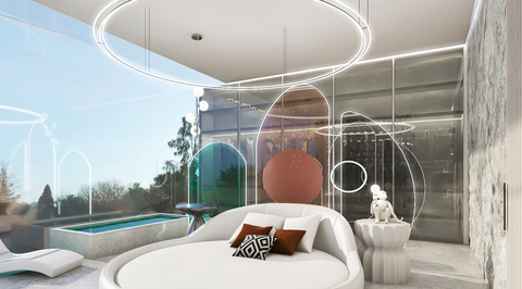 Brand Creative's futuristic nature-inspired hotel concept for Moroccan town mixes hyper-biophilic design and touchless technology