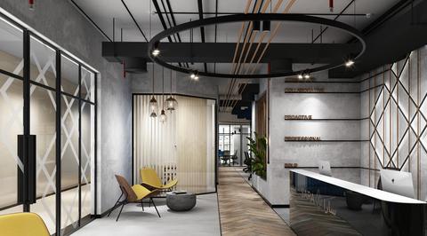 Swiss Bureau Interior Design creates tribute to modern day Dubai in the interiors of Sara Group HQ
